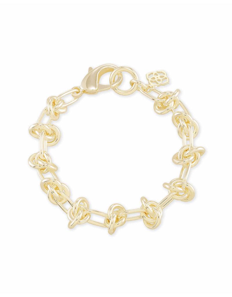 Kendra Scott Presleigh Link Bracelet in Gold