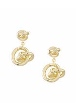Kendra Scott Presleigh Drop Earrings in Gold