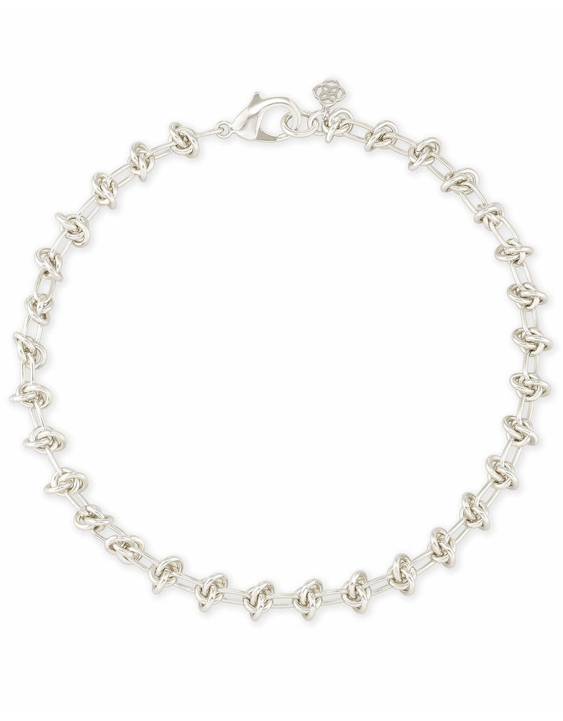 Kendra Scott Presleigh Choker Necklace in Silver
