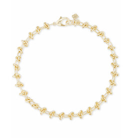 Kendra Scott Presleigh Choker Necklace in Gold