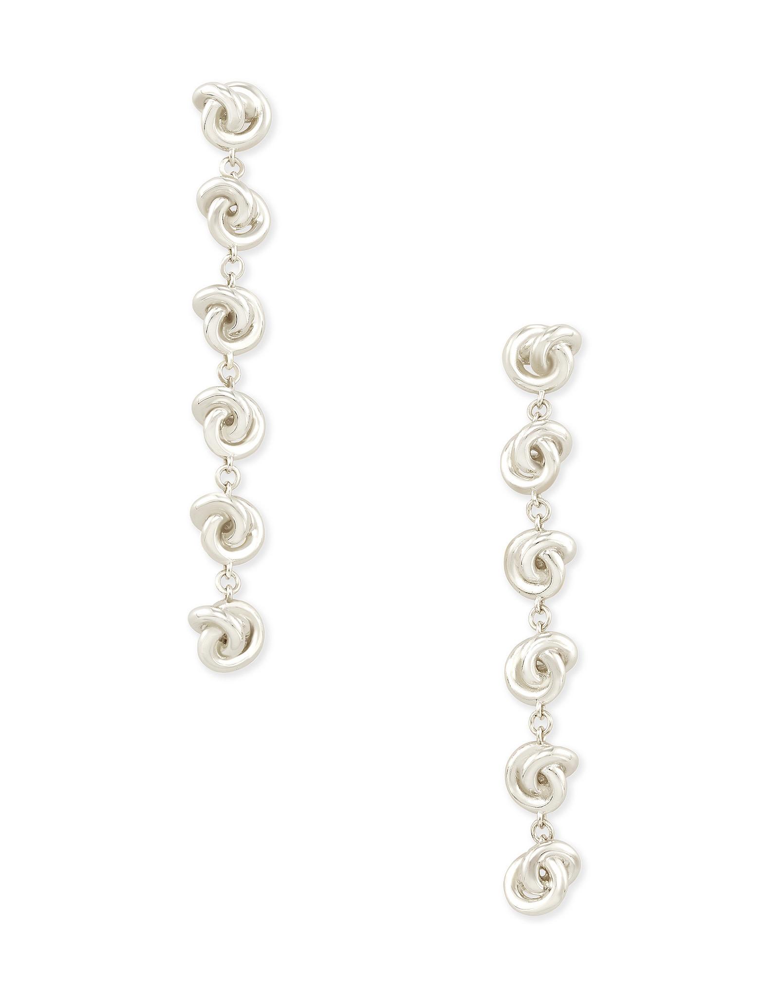 Kendra Scott Presleigh Linear Earrings in Silver