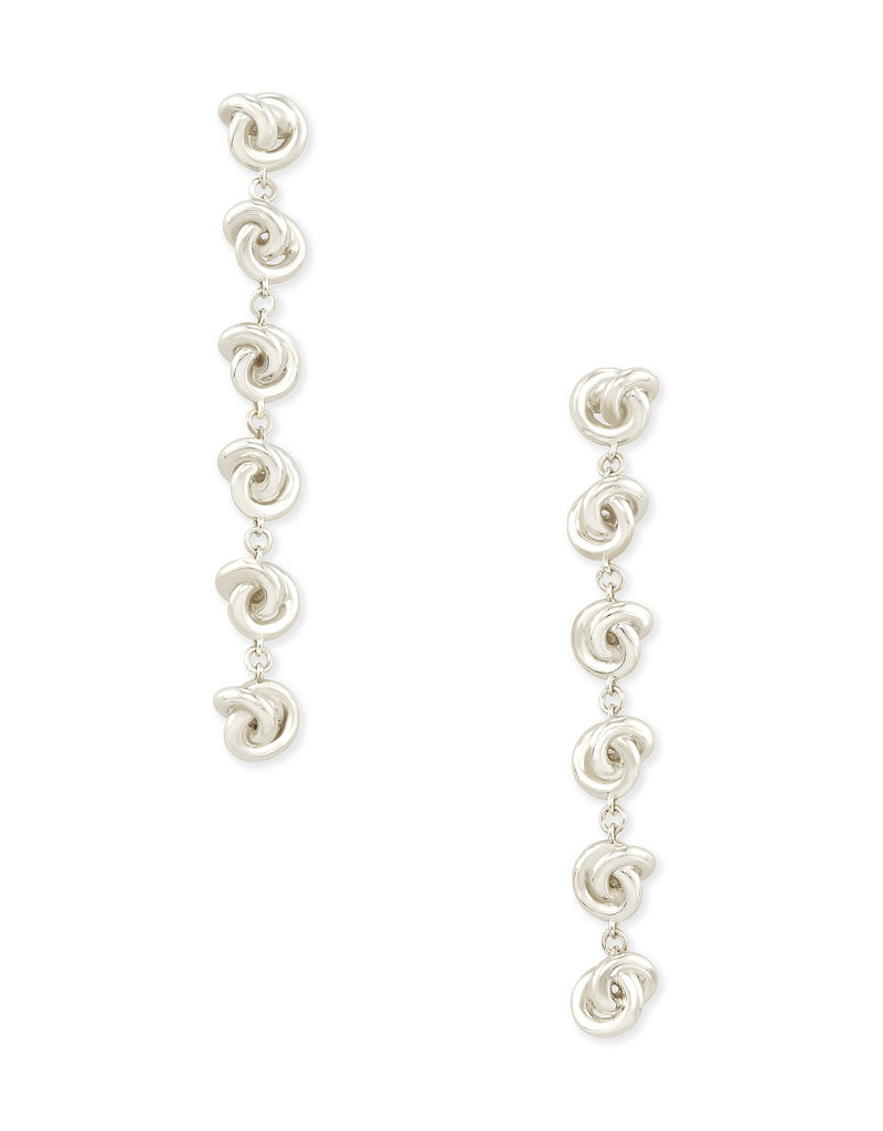 Kendra Scott Presleigh Linear Earrings in Silver