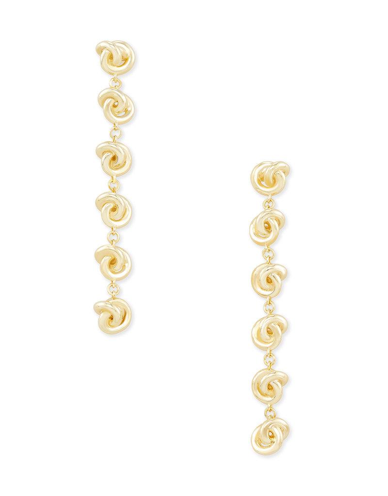 Kendra Scott Presleigh Linear Earrings in Gold