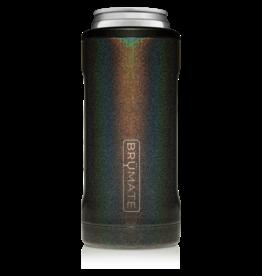 Brumate Hopsulator Slim Glitter Charcoal (12oz slim cans)