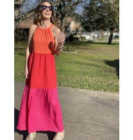 Sherbert Long Dress