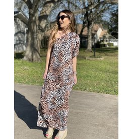 Buddy Love Grace Leopard Dress