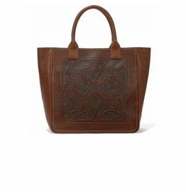 Brighton Ferrara Toscana Scala Tote - Saddle