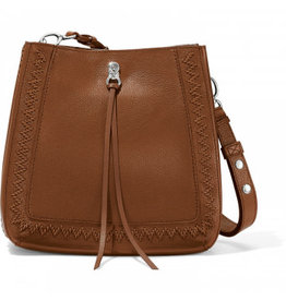 BRIGHTON Georgia Interlock Handbag in Bourbon