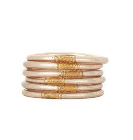 BuDhaGirl Champagne All Weather Bangles -Medium