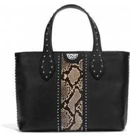 Brighton Zoey Small Convertible Tote- Snake