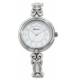 Brighton SIlver La Palma Watch