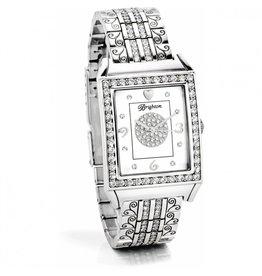 Brighton Silver Diamond Bar Watch