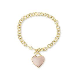 Gorjana Kara Heart Bracelet - Gold
