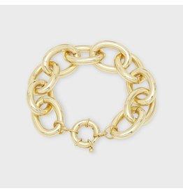 Gorjana Lou Statement Bracelet Gold