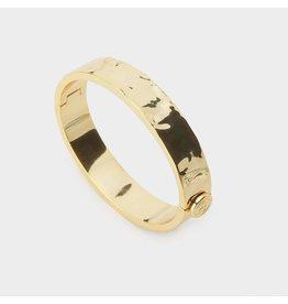 Gorjana Jax Hammered Bracelet  - gold