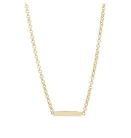 Gorjana Lou Tag Necklace - Gold