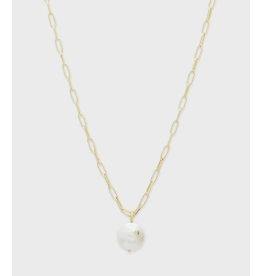 Gorjana Reese Pearl Necklace - Gold