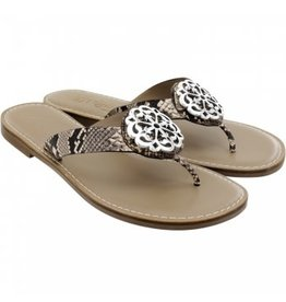 Brighton Alice Sandals Python