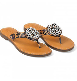 Brighton Alice Leopard Sandals
