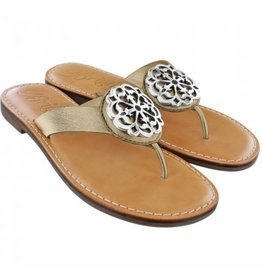 Brighton Alice Sandals Gold