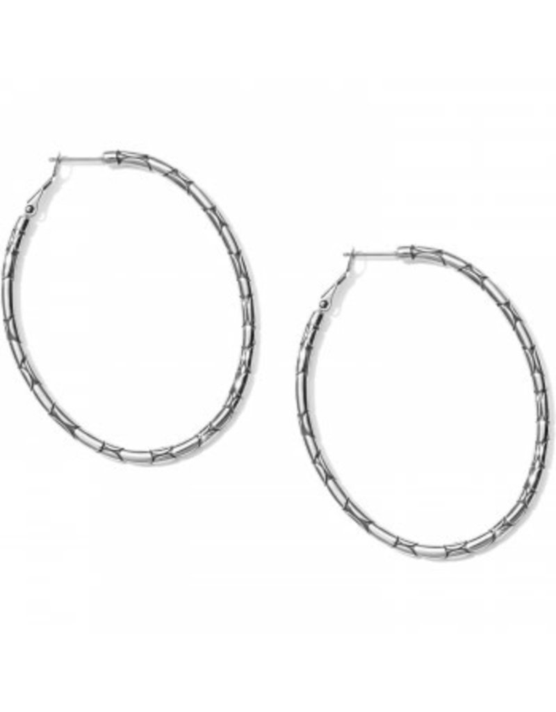 Brighton Pebble Large Oval Hoop