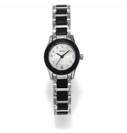 BRIGHTON SIL/BLK BABY BROOKLYN WATCH