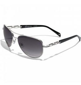 Brighton Meridian Linx Black Sunglasses