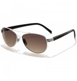 Brighton Sugar Shack Chocolate & Silver Sunglasses