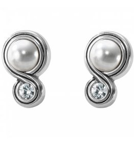 Brighton Infinity Pearl Post Earring