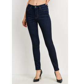 High Rise Super Soft Skinny - Super Dark