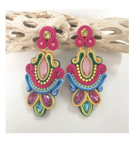 Treasure Jewels Clara Neon Earrings