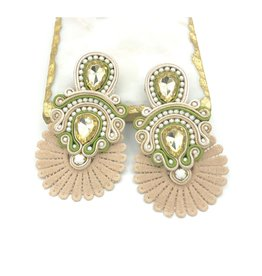 Treasure Jewels Sammy Olive Multi Earrings