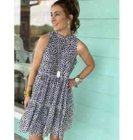 Naomi Leopard Ruffle Dress
