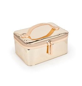 Consuela Train Case - Goldie Gold