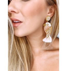 Treasure Jewels Bower Bird Earrings