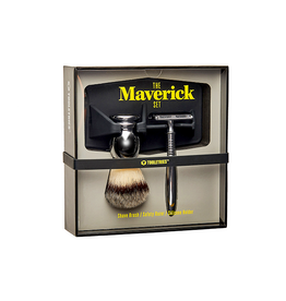 The Maverick Set - Shave Brush Razor Holder