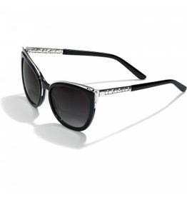 Brighton Contempo Ice Blk/Sil Sunglass