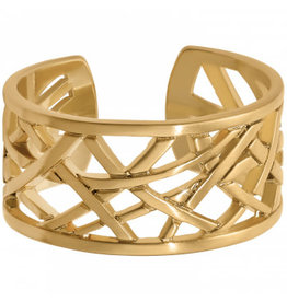 Brighton Christo Meridian Gold Narrow Ring