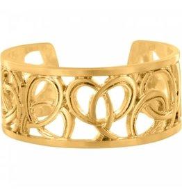 Brighton Christo Vienna Gold Narrow Ring
