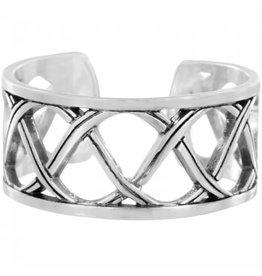 Brighton Christo Syndey Silver Narrow Ring