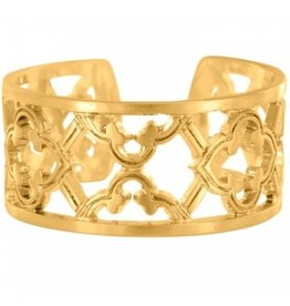 Brighton Christo Toledo Gold Narrow Ring