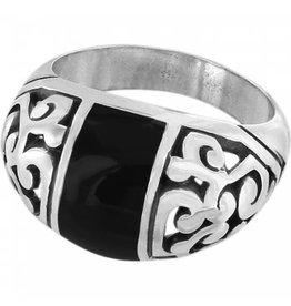 Brighton Black Catania Ring- Size 8