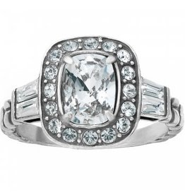 Brighton Clear Reina Ring- Size 8