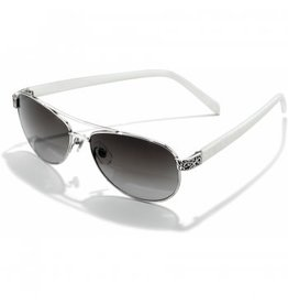 Brighton Mingle Sugar Shack White Sunglasses