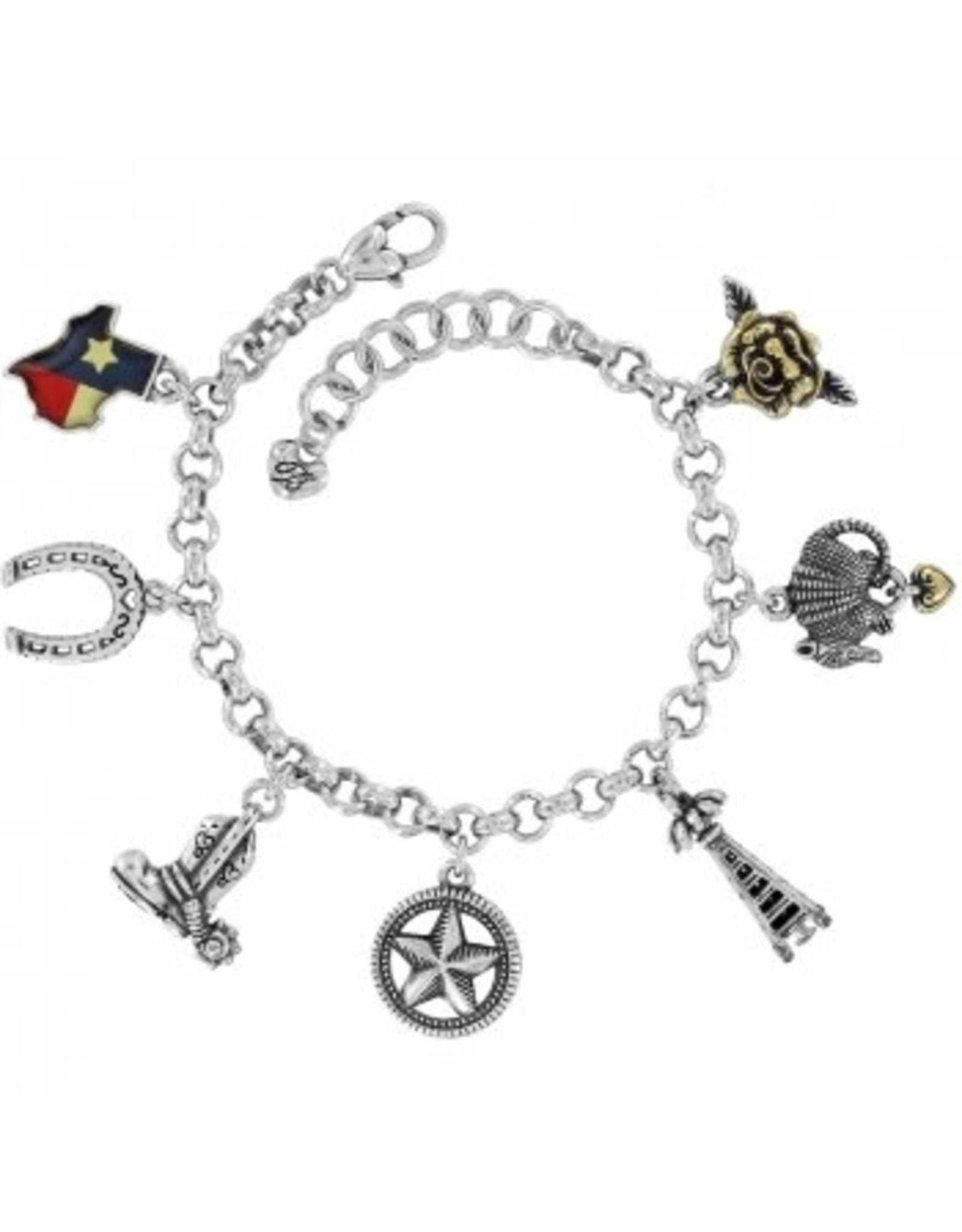 Brighton Texas State Charm Bracelet