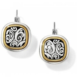 Brighton 2-Tone Spin Master Leverback Earrings