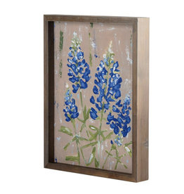 Bluebonnet Framed Canvas