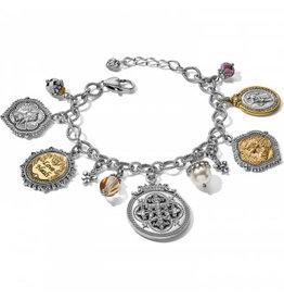 Brighton 2-Tone Divine Charm Bracelet