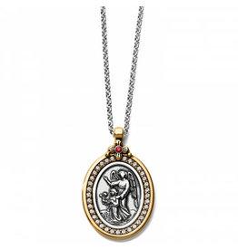 Brighton 2-Tone Guardian Angel Necklace
