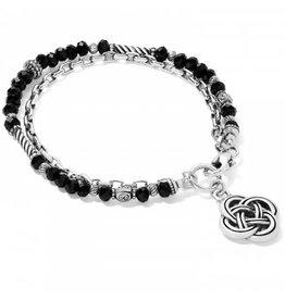 Brighton Gleam On Noir Bracelet